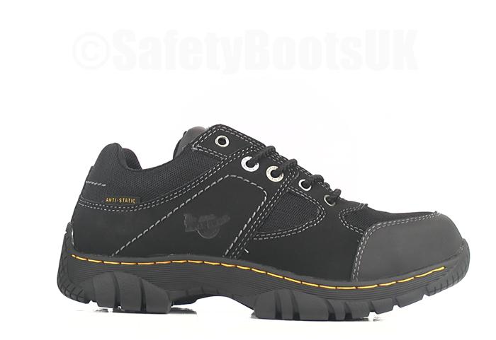 Dr Martens Gunaldo Safety Shoes Steel Toe Caps Mens   Womens 16247001.  powered by WebRotate 360 2e3e16b634