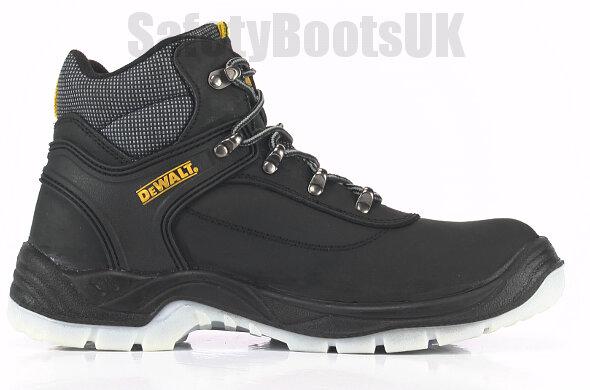 b6c7fa2ff59 Dewalt Laser Safety Boots Steel Toe Caps and Midsole