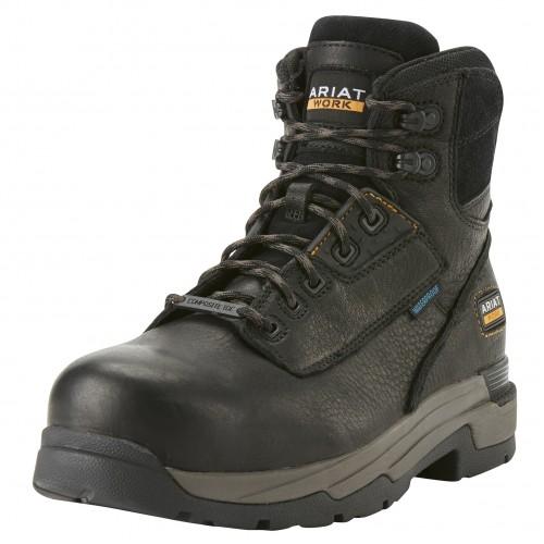 Ariat MasterGrip 6 Inch Black Safety Boots