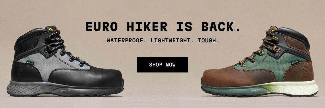 TIMBERLAND PRO — EURO HIKER IS BACK!