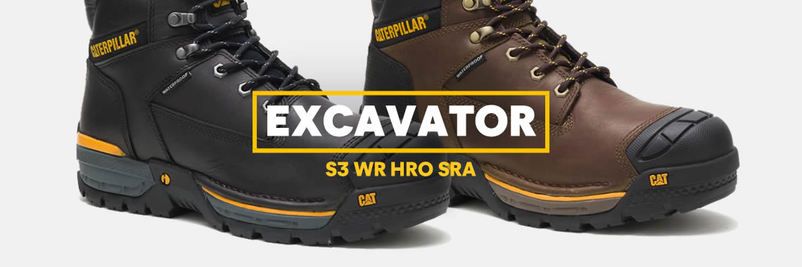 CAT — Excavator Waterproof Safety Boots