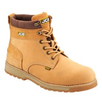 JCB 5CX Honey Safety Boots With Steel Toe Caps and Midsole