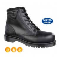 Dr Martens Icon Black 6 Eyelet Boots 13606001