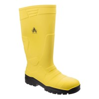 Amblers AS1007 Yellow Safety Wellingtons