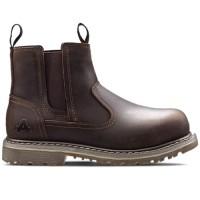 Amblers AS101 Alice Ladies Brown Dealer Boots