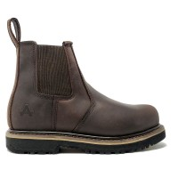 Amblers AS231 Skipton Brown Safety Chelsea Boots