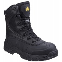 Amblers AS440 Skomer Black Waterproof Safety Boots AS440