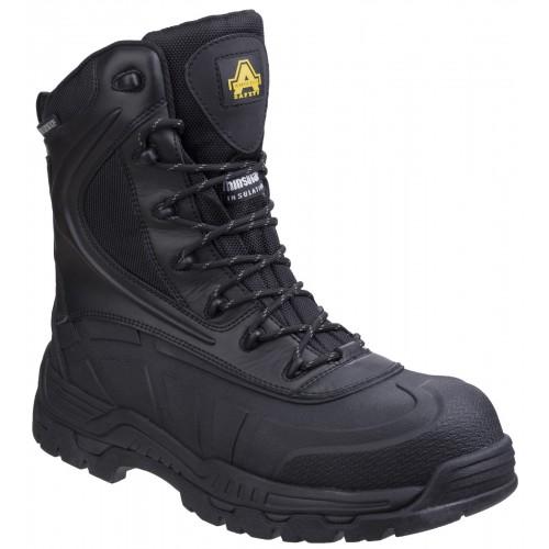 Amblers AS440 Skomer Black Waterproof Safety Boots AS440