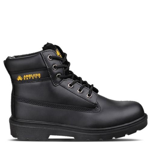 Ambler FS112 Black Safety Boots