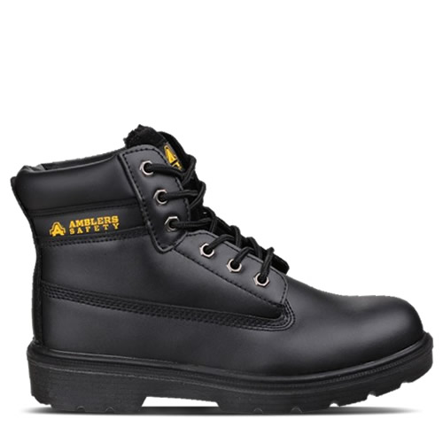 Amblers FS112 Black Safety Boots