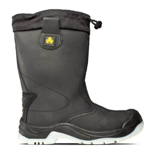 Amblers FS209 Black Safety Rigger Boots