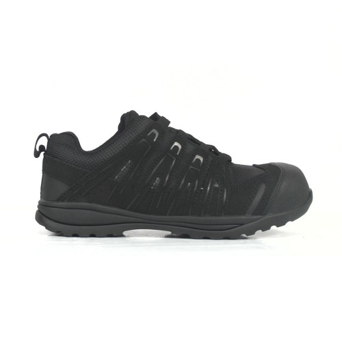 Amblers Black Safety Trainers FS40C