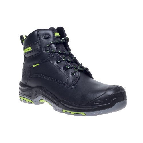 Apache Dakota Black Waterproof Safety Boots