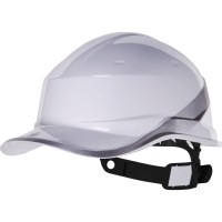 Diamond V DIAM5 White Safety Helmet