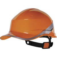 Diamond V DIAM5 Orange Safety Helmet
