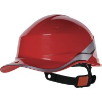 Diamond V DIAM5 Red Safety Helmet