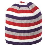 CAT C1128103 Stripe Beanie Berry