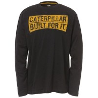 CAT C1510264 Curved Banner LS T-Shirt