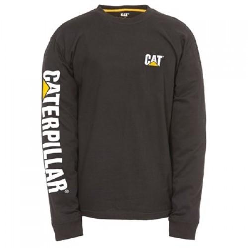 CAT 1510034 Trademark Banner LS T-Shirt