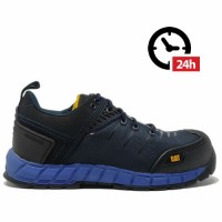 CAT Byway S1P Blue Safety Trainers Size 7/8