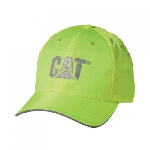 CAT C1128101 Hi-Vis Yellow Trademark Cap