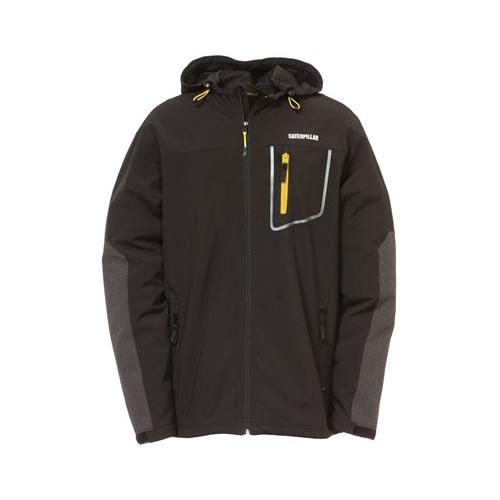CAT C1313093 Capstone Hooded Soft Shell Jacket
