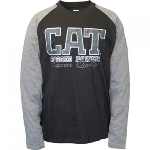 CAT C1510462 Rugged Baseball LS T-Shirt