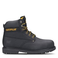 CAT Powerplant SB Black Safety Boots