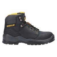 CAT Striver Black Safety Boots