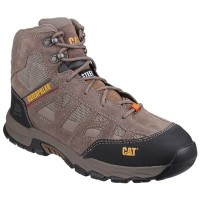 CAT Structure Mid Brown Safety Boots