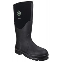 Muck Boots Chore Black Steel Toe Cap Wellington Boots Muck Boot Company