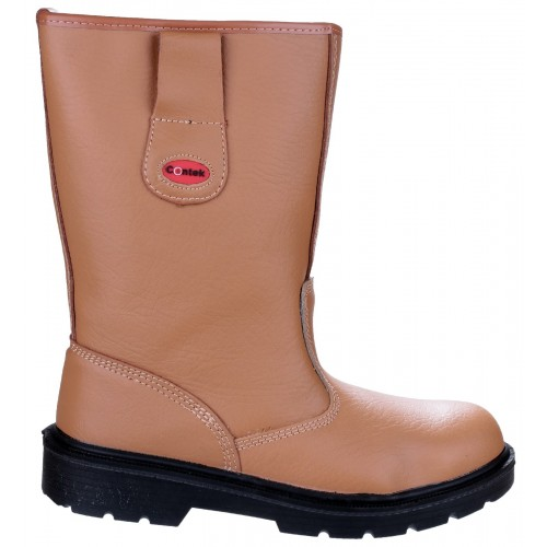 Centek FS334 Tan Safety Rigger Boots