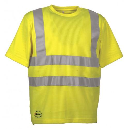 Cofra Alert Yellow High Visibility T-Shirt
