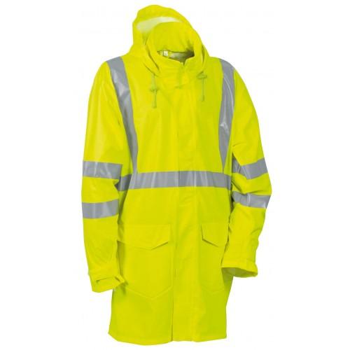Cofra Caracas High Visibility Yellow Waterproof Jacket