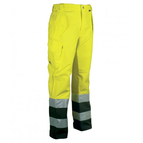 Cofra Hebron Yellow GORE-TEX High Visibility Waterproof Trousers