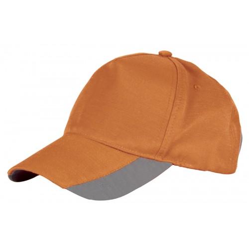 Cofra Lit Hi-Vis Orange Cap