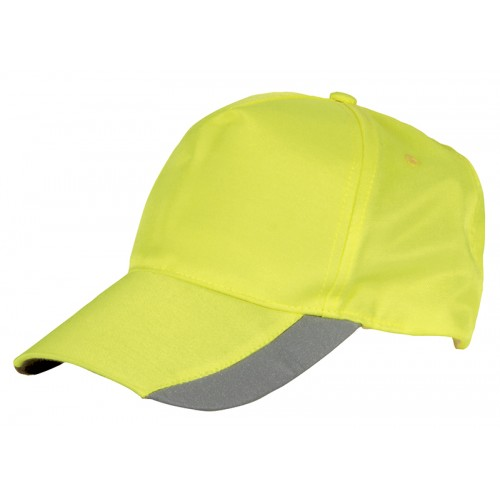 Cofra Lit Hi-Vis Yellow Cap