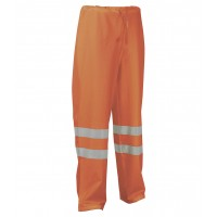 Cofra Micene Orange Hi Vis Waterproof Trousers EN343 EN471