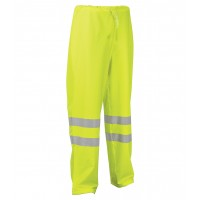 Cofra Micene Yellow Hi Vis Waterproof Trousers EN343 EN471
