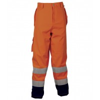 Cofra Reflex Orange Waterproof High Visibility Trousers