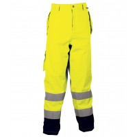 Cofra Reflex Yellow Waterproof High Visibility Trousers