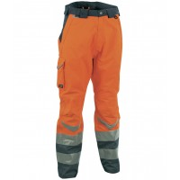 Cofra Safe Orange Waterproof High Visibility Trousers