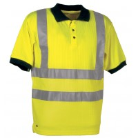 Cofra Spotlight Yellow High Visibility Polo Shirt