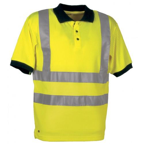 Cofra Spotlight Yellow High Visibility Polo Shirt