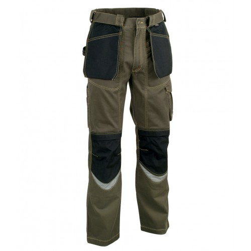 Cofra Bricklayer Kneepad Trousers With Holster Pockets