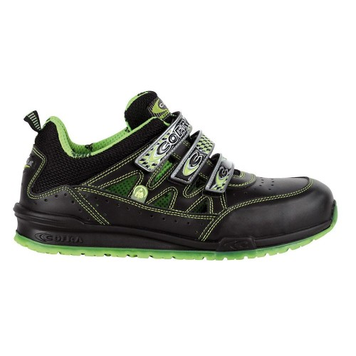Cofra Davenport Lime Safety Trainers