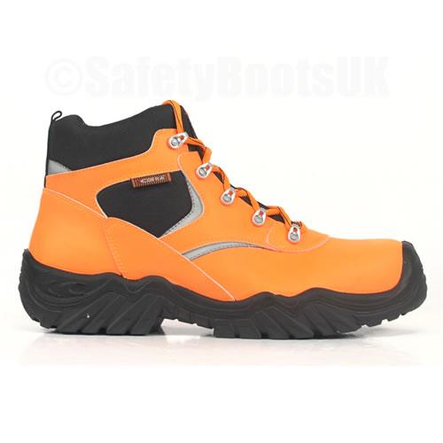 Cofra Evident Hi Vis Orange Safety Boots S3 HRO