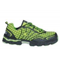 Cofra Low Kick Lime Safety Trainers