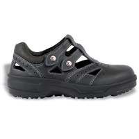 Cofra  Monique Black Ladies Safety Sandals with Steel Toe Caps
