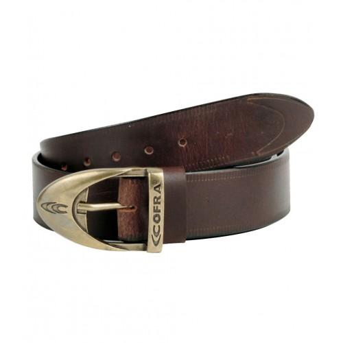Cofra Street Brown Leather Belt